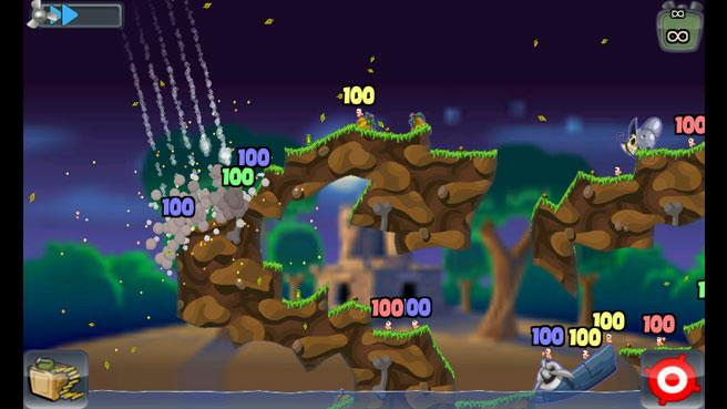 La Saga Worms para Android: Juegos imprescindibles